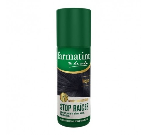 Farmatint stop raices (spray 75 ml negro)