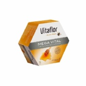 Vitaflor jalea real mega vital ampolla bebible (1500 mg 200 ml 20 amp)