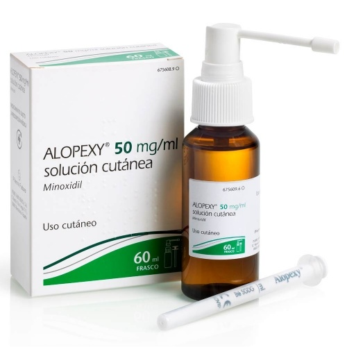 ALOPEXY 50 mg/ml SOLUCION CUTANEA , 1 frasco de 60 ml (PET)