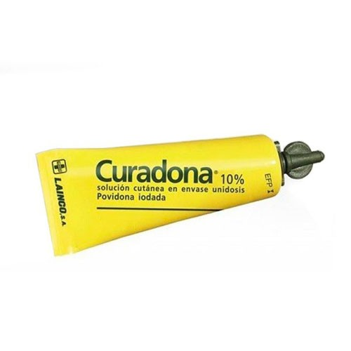 CURADONA 100 mg/ml SOLUCION CUTANEA, 1 frasco de 60 ml