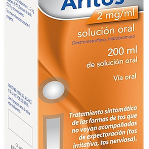 ARITOS 2 mg/ml SOLUCION ORAL , 1 frasco de 200 ml