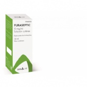 FURASEPTIC 10 MG/ML SOLUCION CUTANEA, 1 frasco de 30 ml (gotero)