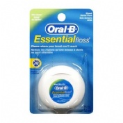 Oral-b essential floss fluor - seda dental con cera (menta 50 m)